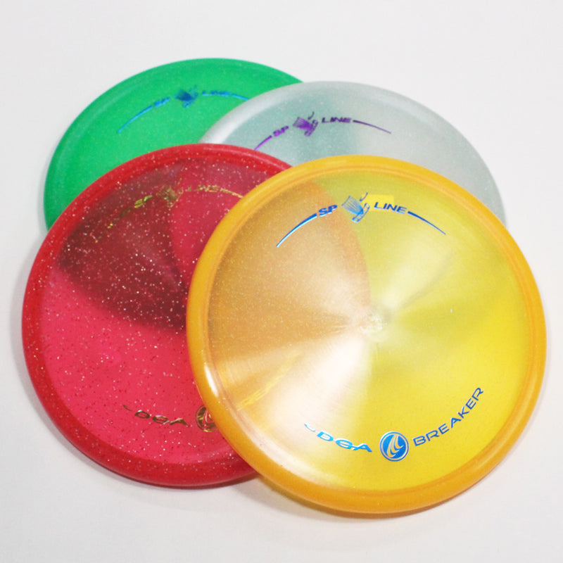 DGA Breaker Disc Golf- Putt & Approach- Many Styles! Colors and Weight may Vary (160g -174g) Sold Individually - YoYoSam