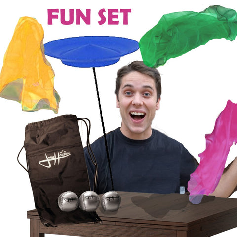 Josh Horton Juggling Fun Set - Great for Beginners - For Kids or Adults! - YoYoSam