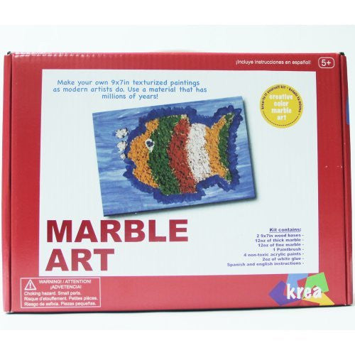 Krea Creative Art Kits - Marble Art