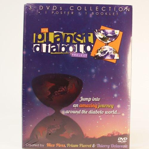 The Planet Diabolo Project - 3 DVD Collection, 1 Poster, 1 Booklet - YoYoSam