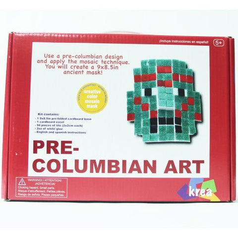 Krea Creative Art Kits - Pre-Columbian Art