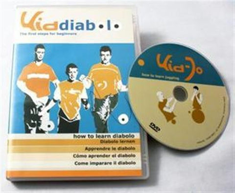 Play Kid Diabolo DVD: How to Learn the Diabolo