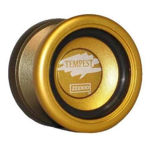 Zeekio Tempest Yo-Yo - Performance Aluminum Yo-Yo Gold and Bronze