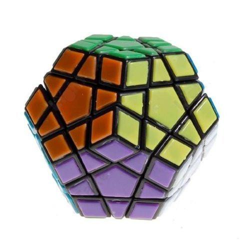 Black mf8 Tiled Megaminx II Puzzle