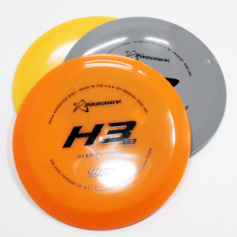 Prodigy H3 V2 400G Disc Golf- Hybrid Driver - Many Styles! Colors and Weight may Vary (160g -176g) Sold Individually - YoYoSam