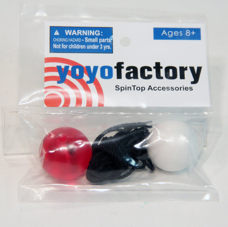 YoYoFactory Spin Top Accessories String and Button Kit (Colors Vary) - YoYoSam