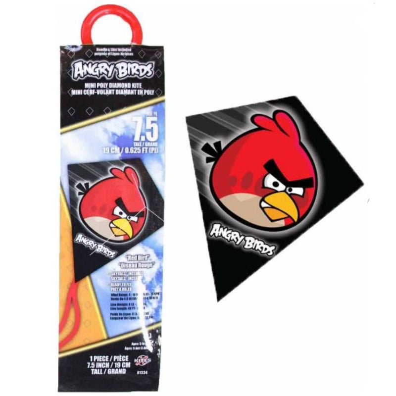 X-Kites Mini Poly Diamond Kite - Angry Bird - MicroDiamond 7.75 inch Kite - YoYoSam