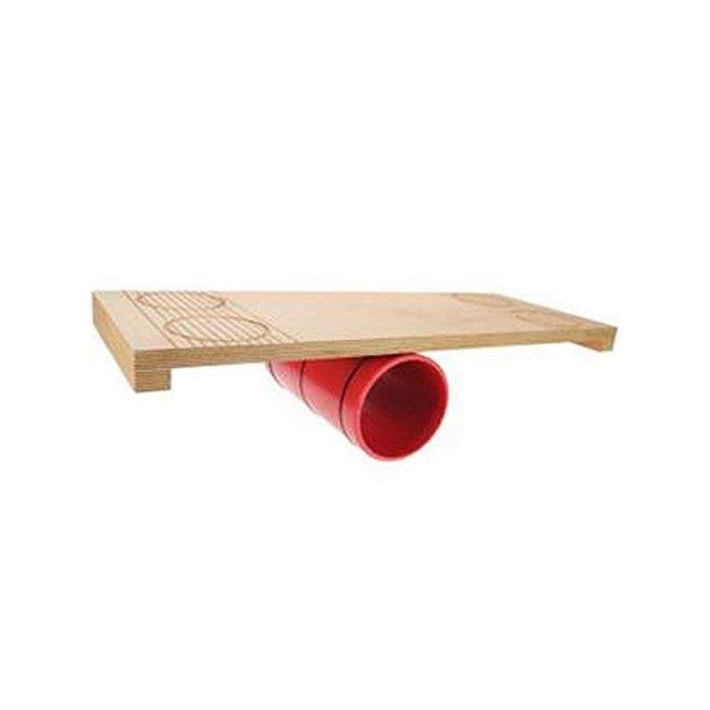 "Play Rola Bola Kit - 26 ""Wooden Board and 5"" Roller"