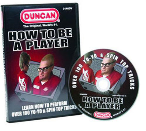 Duncan DVD How to be a Player 100 TRICKS - YoYoSam