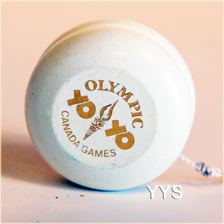 Vintage Collectible Olympic Wooden Yo-Yo - YoYoSam