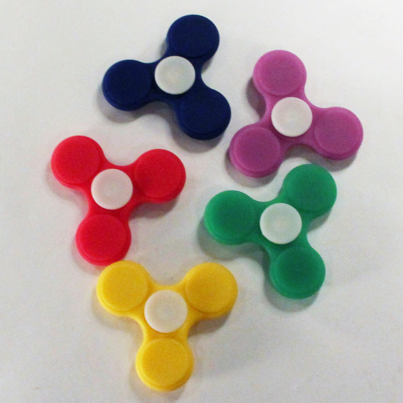 Silicone Hand Spinner - Fidget Toy * Lead Free