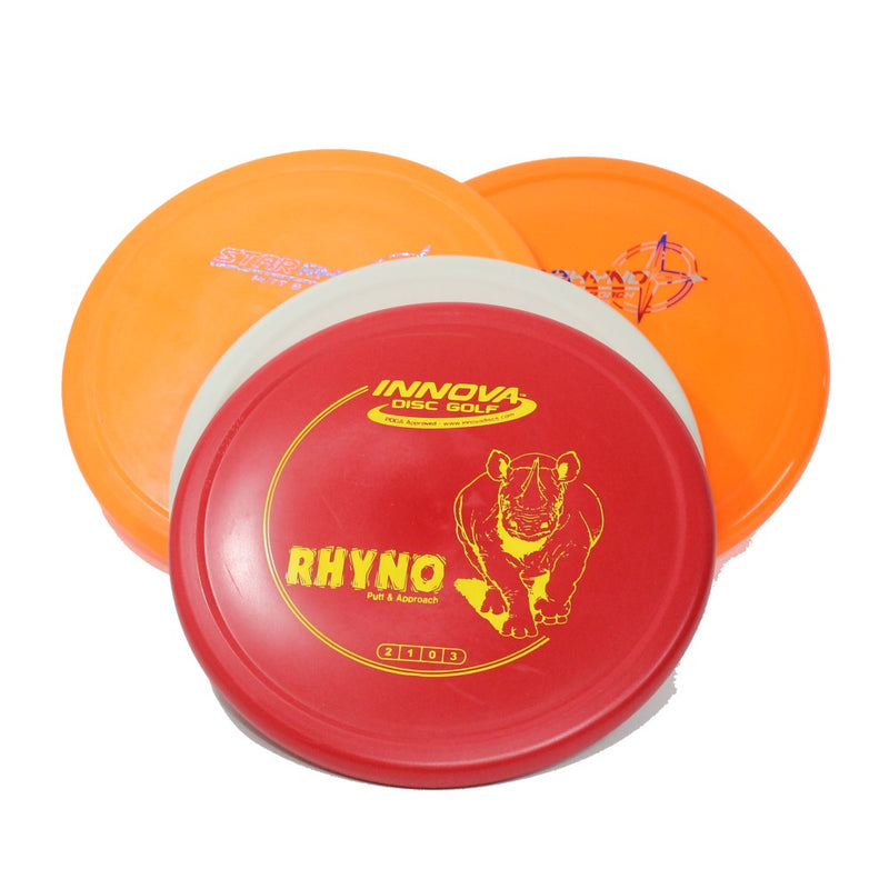 Innova RHYNO Disc Golf- Putt and Approach - Many Styles! Colors and Weight may Vary (170g -175g) Sold Individually - YoYoSam