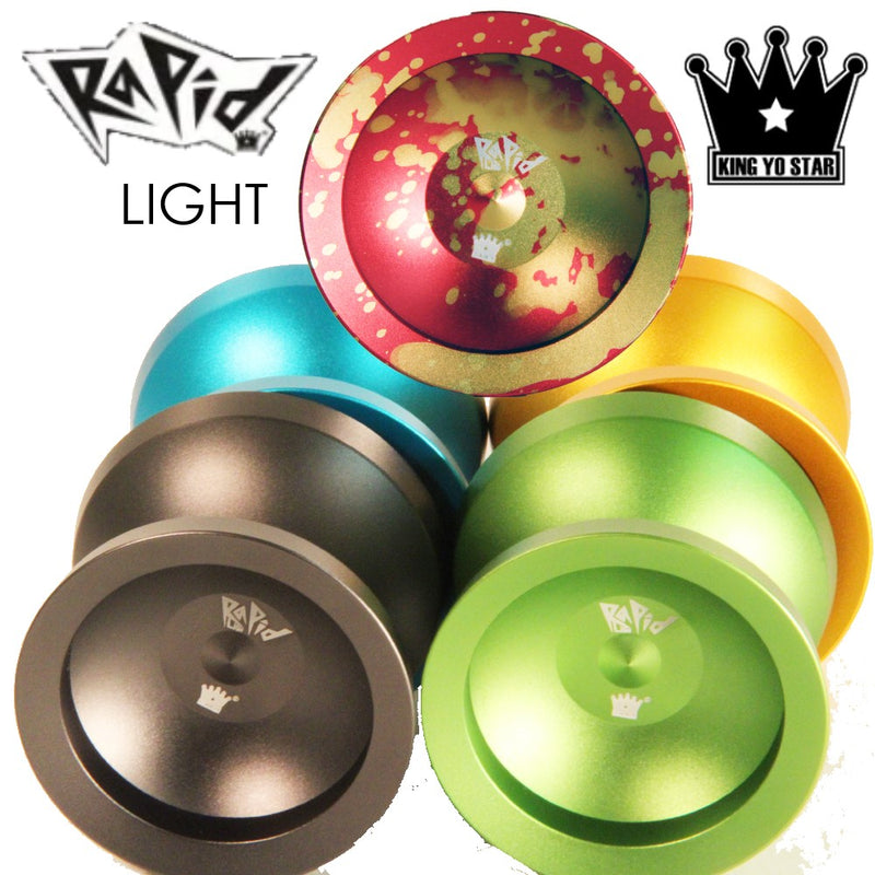 King Yo Star Rapid Light Yo-Yo - Aluminum YoYo - YoYoSam