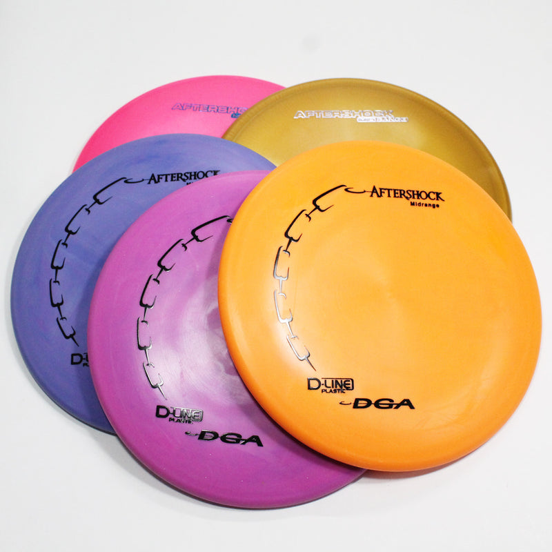 DGA Aftershock Disc Golf- Midrange- Many Styles! Colors and Weight may Vary (164g -176g) Sold Individually - YoYoSam