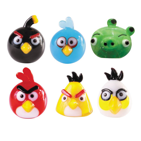Angry Birds Mini Glass Sculpture - Hand Crafted - Limited Edition