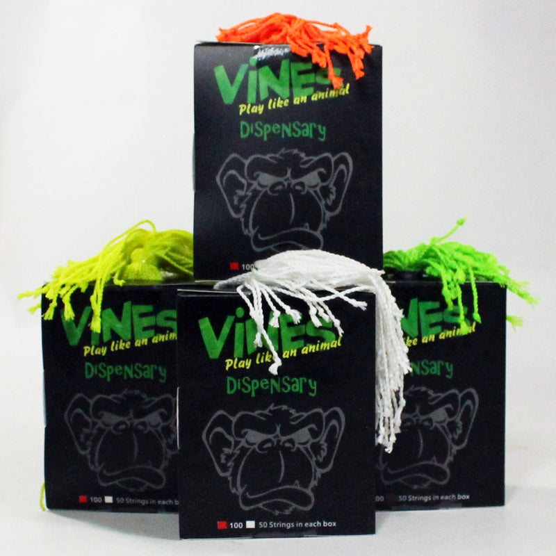 MonkeyfingeR Vines 100 Pack -Normal - Polyester Yo Yo String - YoYoSam