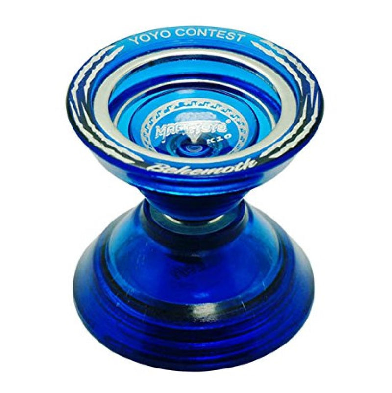 MAGICYOYO K10 Behemoth Yo-Yo - Polycarbonate with Metal Ring - Unresponsive YoYo - Super Wide! Super Fun! - YoYoSam