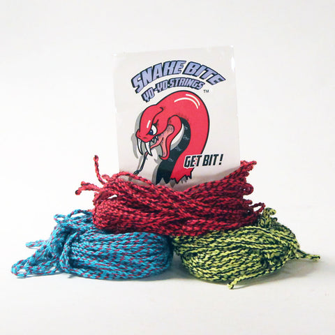 Snake Bite Yo-Yo Strings - 100% Cotton Strings - Snake Bite 10 Pack