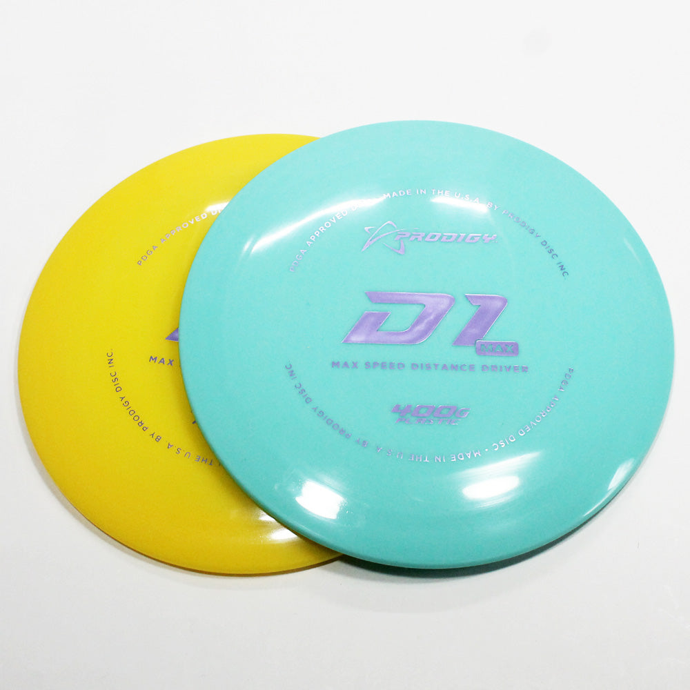 Prodigy D1 Max 400G Disc Golf- Distance Driver - Many Styles! Colors and Weight may Vary (170g -174g) Sold Individualy - YoYoSam