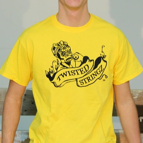 Twisted Stringz Tee Shirt - Logo T-Shirts - Fluorescent Colors