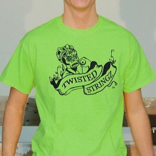 Twisted Stringz Tee Shirt - Logo T-Shirts - Fluorescent Colors - YoYoSam
