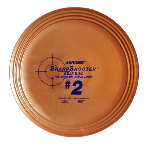 Aerobie SharpShooter #2 Golf Disc Mid Range - YoYoSam