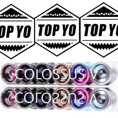 TOP YO Colossus V Yo-Yo - 5th Generation High Performance YoYo - 7-Series Aluminum Alloy!