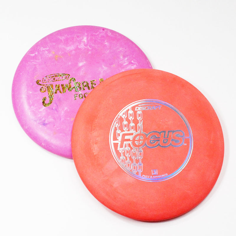 Discraft Focus Disc Golf- Putt & Approach - Many Styles! Colors and Weight may Vary (170g) Sold Individually - YoYoSam