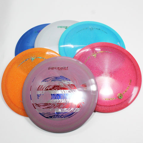 DGA Pipeline Disc Golf- Fairway Driver- Many Styles! Colors and Weight may Vary (167g -174g) Sold Individually - YoYoSam
