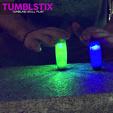 Tumblstix LED Skill Toy- Walking Desk Toy by Zing (1 PACK)