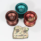 Freshly Dirty Moldy Bread Yo-Yo - Unresponsive Aluminum YoYo Featuring a D Sized Bearing! - YoYoSam