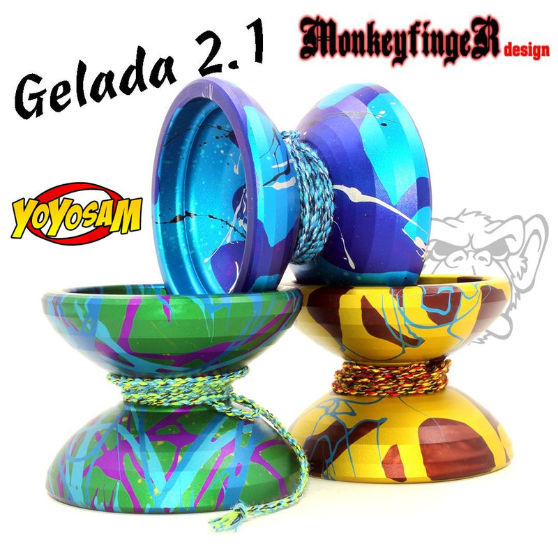 MonkeyfingeR Gelada 2.1 Yo-Yo - Fun - Casual - High Performance YoYo