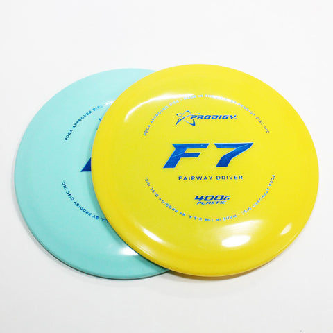 Prodigy F7 400G Disc Golf- Fairway Driver - Many Styles! Colors and Weight may Vary (170g -176g) Sold Individually