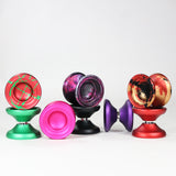 Retic Yoyo Puff Adder Yo-Yo - Aluminum Competition YoYo - Includes YoYo Bag, Custom MPString and Stickers!