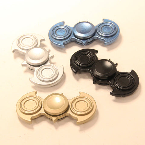 Metal Bat Fidget Spinner - Great Weight (58g) - Long Spin Times