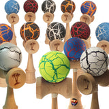 Bahama Kendama Crackle Standard Sized Kendama - Huge color selection!