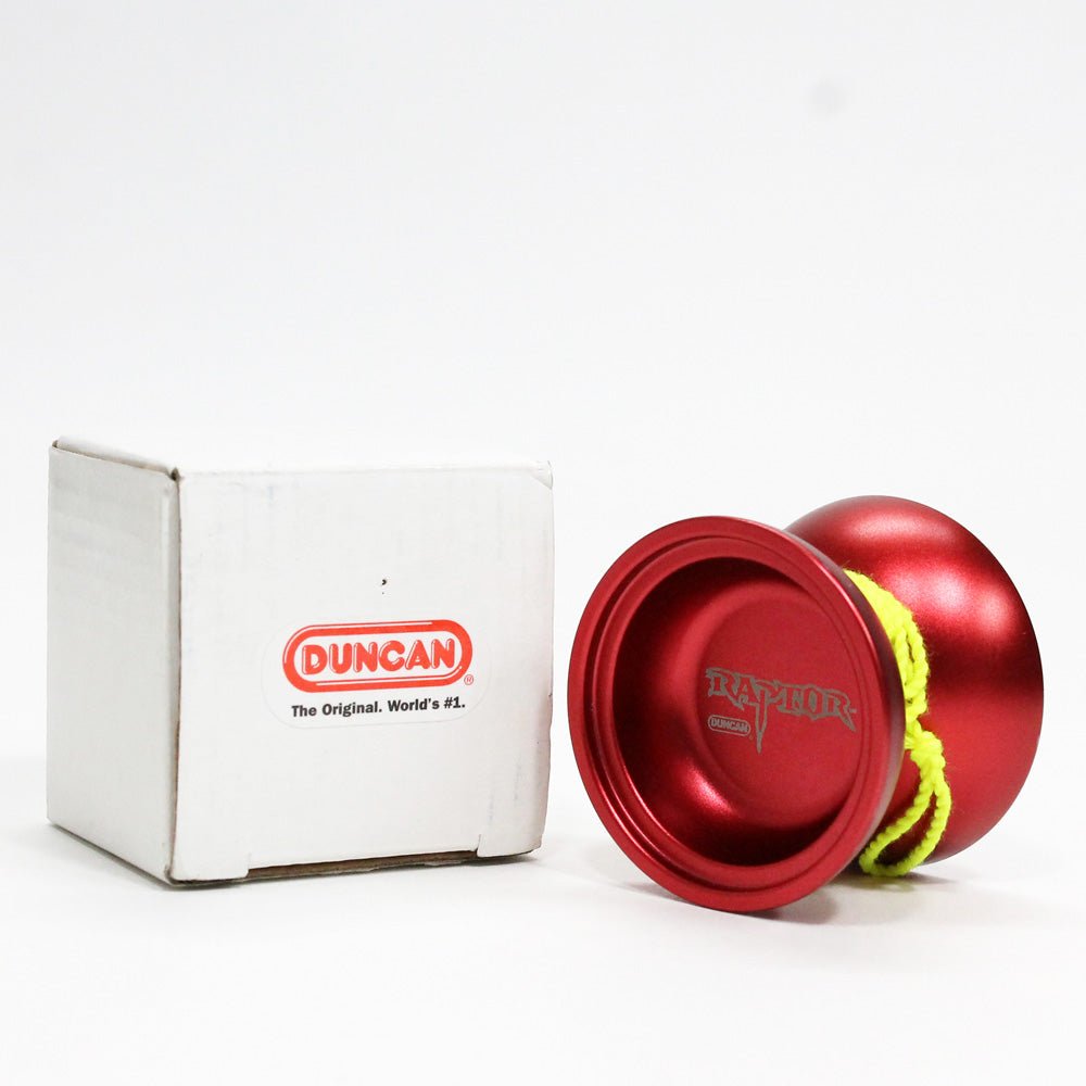 Duncan Raptor - Triple Crown of Yo-Yo Edition - Red - Pre-owned - YoYoSam