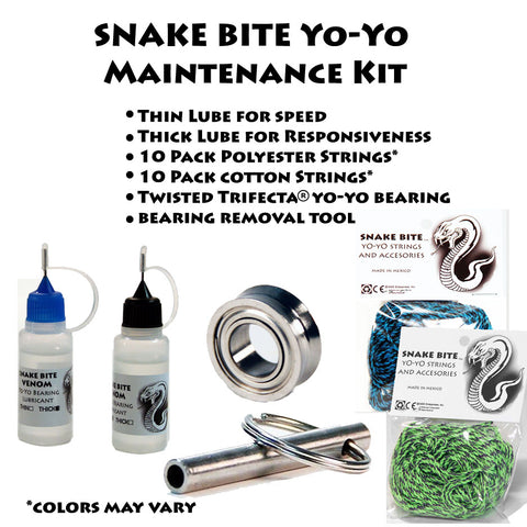 Snake Bite Yo-Yo Maintenance Kit - YoYoSam