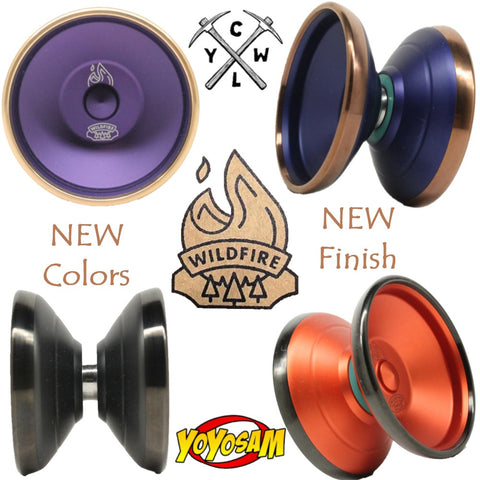 CLYW Wildfire Yo-Yo - Pure Competition YoYo - by Caribou Lodge Return Tops