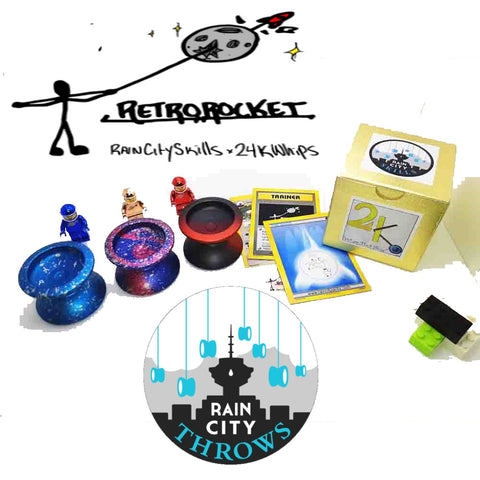 Rain City Skills Retro Rocket Yo-Yo - 24K Whips Collaboration YoYo