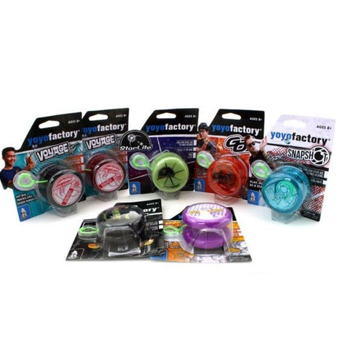 YoYoFactory Play Yo-Yo Collection - Great Beginner YoYo with Collectible Designs