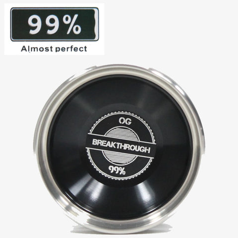 99% Yo-Yo Company - Break Through OG Yo-Yo - Bi-Metal Competition YoYo - Aluminum with Stainless Steel Rims - YoYoSam