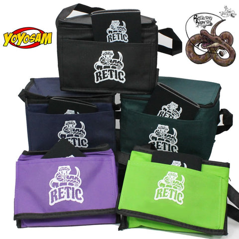 Retic Yoyo Cooler Set - Lunch Box and Koozie - Fits 6 Cans