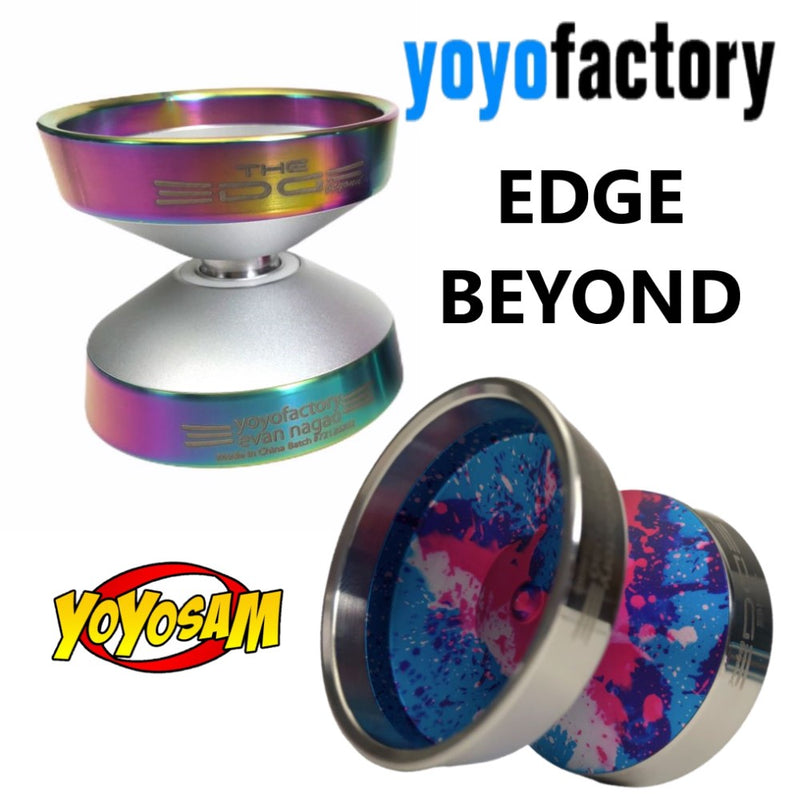 YoYoFactory Edge Beyond Yo-Yo - World Champion Evan Nagao Signature Yo-Yo! - YoYoSam