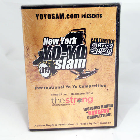 New York Yo-Yo Slam 2015 DVD - Filmed live at The Strong Museum of Play