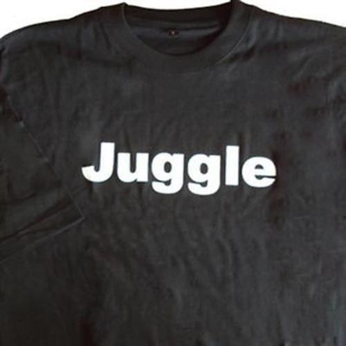 Zeekio 100% Cotton Juggle Quality Tee Shirt - Black - YoYoSam