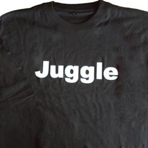 Zeekio 100% Cotton Juggle Quality Tee Shirt - Black