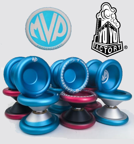 YoYoFactory MVP 3 Sucker Punch Yo-Yo - 6061 Aluminum Bi-Metal Design - Paul Kerbel