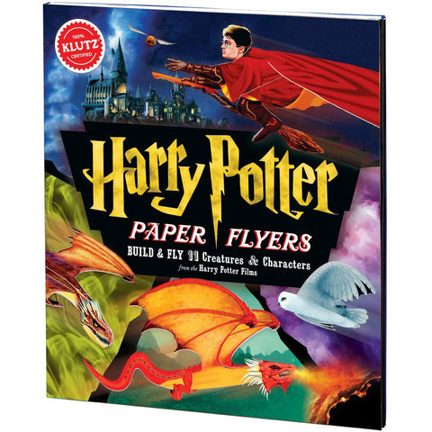 Klutz Harry Potter Paper Flyers Kit - Build & Fly 11 Creatures and Characters
