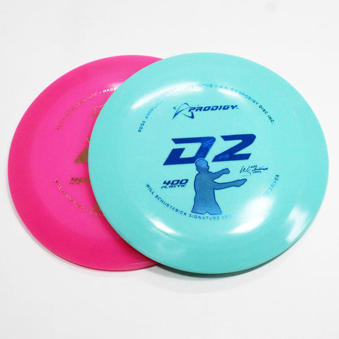 Prodigy D2 400 Disc Golf- Distance Driver - Many Styles! Colors and Weight may Vary (170g -174g) Sold Individually